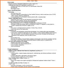 Good Resume Objectives Resume Name