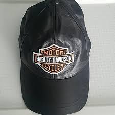 harley davidson other harley davidson leather hat