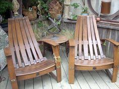 used wine barrel furniture. chairs made from used wine barrels need barrel furniture l