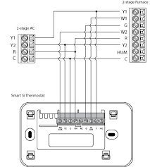 two stage thermostat wiring diagram images as well room two stage thermostat wiring diagram faqs for ecobee smart si