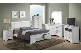 Bedroom: Modern White Full Size Bedroom Sets With Enchanting Bed ...