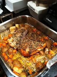 Roast a boneless turkey breast with this boneless turkey breast recipe, flavored with a deliciously foolproof boneless turkey breast recipe. Ellen Clifford Mcguire Recipe Exchange Roasted Boneless Turkey Breast With Vegetables Masslive Com