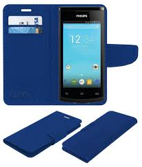 Philips S308 Flip Cover by ACM - Blue ...