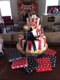 Popcorn Baby Shower Cake
