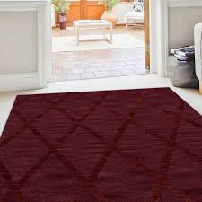 rectangle 12 x 15 area rugs dover tufted wool burdy area rug
