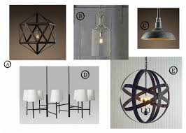 image of kind of dining room light fixture