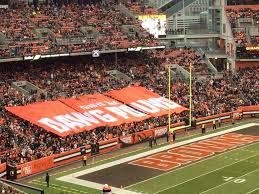 Cleveland Browns Stadium Seating Browns Stadium Seating