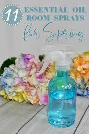 11 essential oil room sprays for spring