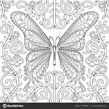 Kleurplaten Bloemen En Vlinders Fris Pin Vlinders Kleurplaat Vlinder