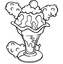 Small Picture Banana Split Coloring Page 2823 940692 Coloring Books