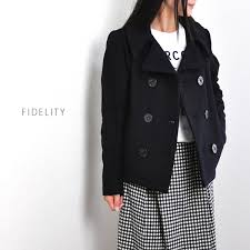 stillfr rakuten global market fidelity fidelity 24 oz short pea coat short p coat 24284 la p 14 sf 6333 womens peacoat p coat medium short long