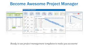 Project Management Plan Excel Microsoft Project Management Templates Excel Project Portfolio