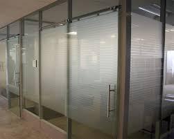 sliding office door. Glass Offices With Space Saving Frameless Sliding Doors Office Door