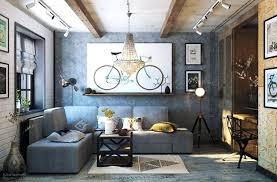 living room decor grey and brown ideas sofa dark cozy industrial design in tones good looking this roo