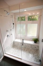 Finally... an example that a walk-in shower with a big window