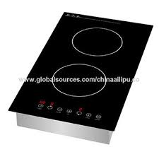 china ailipu 2 burner electric induction cooktop smooth surface black tempered glass sm dic31