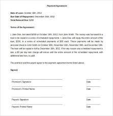 Agreement Letter For Loan Interesting Agreement To Repay Loan 48 Elegant Sample Agreement Letter Between
