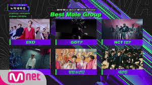 2019 MAMA] Best Female/Male Group Nominees - YouTube