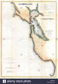California Nautical Charts Pacific Coast From Point Pinos To Bodega Head California
