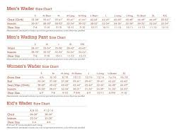 Caddis Youth Waders Size Chart Wader Size Chart Uk Bedowntowndaytona Com
