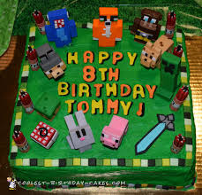 minecraft cake recipe.  Cake Minecraft Birthday Cake Cakes Coolest Intended Recipe