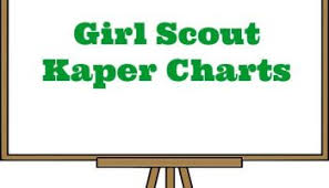 Girl Scout Kaper Charts Made Easy Resources For Leaders