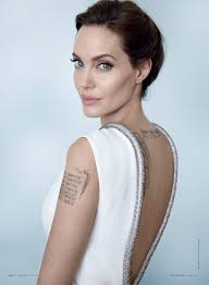 Angelina Jolie Adds Three More Large Tattoos To Her Body Vanity Fair