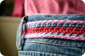 Crochet Belt Pattern Custom Decorating Ideas