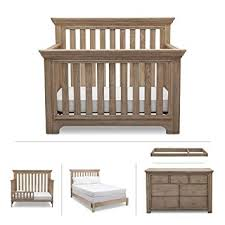 rustic nursery furniture. Nursery Furniture Set Serta Kids Convertible Crib Dresser Intended Rustic