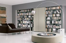 cool library furniture. Contemporary Home Library Furniture With Neat Arrangement : Small Cool L