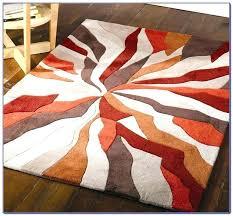 orange and gray area rugs gray and orange area rug burnt orange and grey area rugs