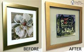 floating glass frame from any picture diy floating glass frame