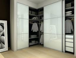 sliding wardrobe doors modern closet with frosted glass bamboo flooring home door gear bq
