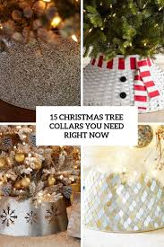 Mesh Christmas Tree Light Covers 15 Christmas Tree Collars You Need Right Now Shelterness