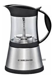 Гейзерная <b>кофеварка Rommelsbacher EKO 376/G</b> Silver - отзывы ...