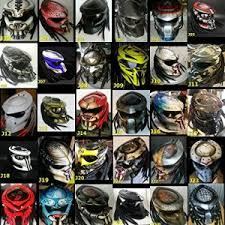 predator motorcycle helmets for sale dot ece custom