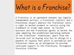 Example Of Franchise Find All About Franchise Types Of Franchises And Examples