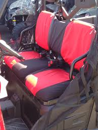 polaris ranger xp 900 one piece backrest seat covers full size