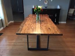 Ambrosia maple live edge dining table