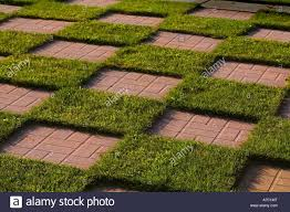 patio stones with grass in between.  Stones A Checkerboard In A Garden Made Up Of Patio Stones And Grass  Stock Image To Patio Stones With Grass In Between