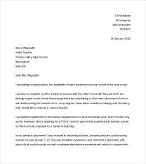 Cover Letter Examples Current Impression University 19 Biology