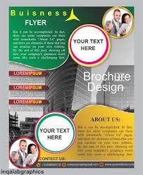 Design Brochure Template Brochure Design Vector Free Vector Design Brochure