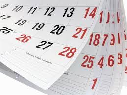 Communications Calendars Printable Subscribing