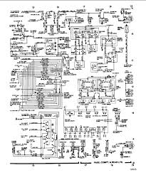 1984 ford f150 4wd pickup the brake lights wiring diagram graphic