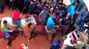 Таджикистан, наврузи, скачка лошадей, бузкаши, бузкаши калон дар хисор кисми 2 солим 10. 25 01 2020 Buzkashi Kok Boru Buzi Ohiron Populyarnye V Tadzhikistane Chast 4 Ippodrom Youtube
