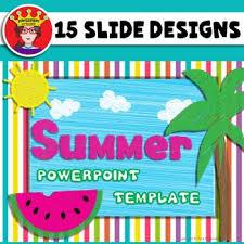 Summer Powerpoint Templates Powerpoint Template Summer