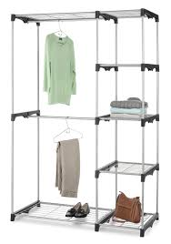 Clothes hanging shelf Closet Shelves Best Shelving Units Reviews Of Floating Shelvescorner Shelves Whitmor Double Rod Closet Organizercloth Hanging Shelf