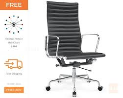 Eames executive chair Lobby Chair Lumens Lighting Eames Executive Chair Eames Office Chair