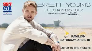 Brett Young April 18 2020 At Sprint Pavilion 99 7 Cyk
