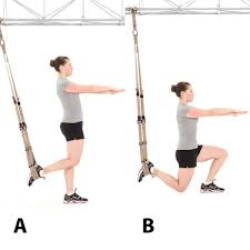 suspended lunge